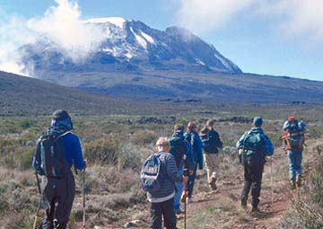 Machame Route 8days